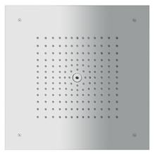 Chrome Showerhead 400 Square 1-Jet Trim, 2.0 GPM