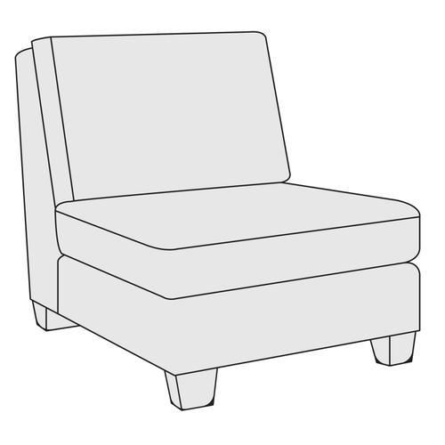 Larson Armless Chair