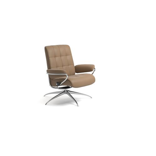 Stressless London Low Back Star Base Chair