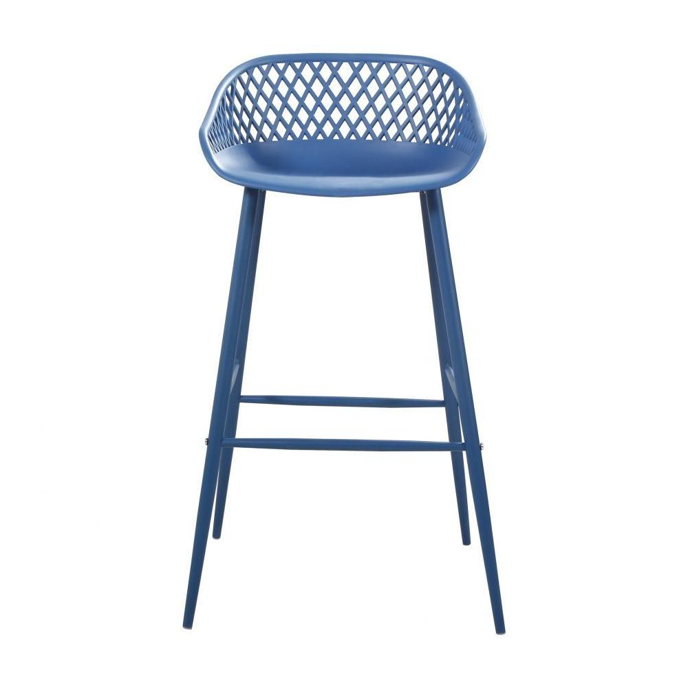 See Details - Piazza Outdoor Barstool Blue-m2