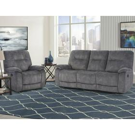 COOPER - SHADOW GREY Manual Reclining Collection