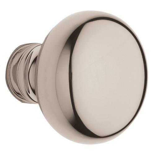 Baldwin - Polished Nickel with Lifetime Finish 5030 Estate Knob