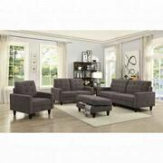ACME Nate Loveseat - 50251 - Chocolate Fabric Product Image