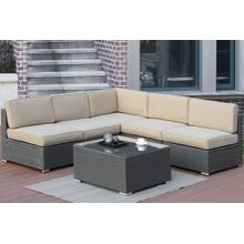6-pcs Sectional Set