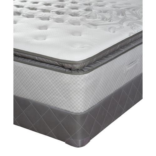 Posturpedic - Gel Series - Spice Wood Springs - Cushion Firm - Euro Pillow Top - Queen