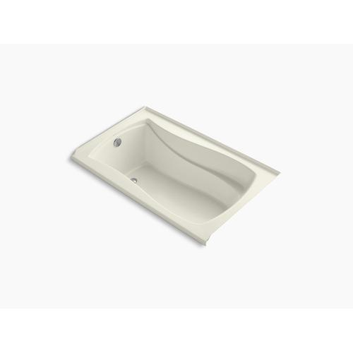 """Biscuit 60"""" X 36"""" Alcove Bath With Integral Flange and Left-hand Drain"""