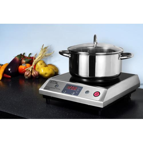 Summit - Portable 115v Induction Cooktop