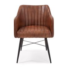 See Details - Houston Leather Chair