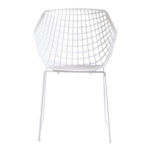 Moe's Home Collection - Honolulu Chair White-m2