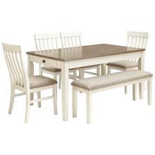 Rectangular Dining Room Table 6PC Set