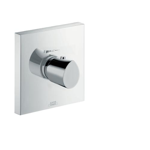 Polished Gold Optic Thermostat HighFlow for concealed installation