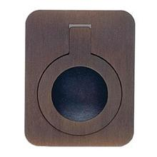 View Product - Rectangular Drop Ring in SB (Shaded Bronze, Lacquered)
