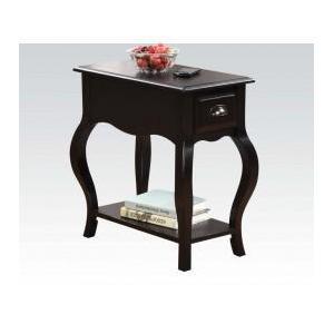 Acme Furniture Inc - Black Side Table