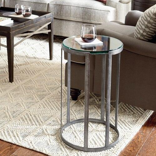 Antiquities Round Leg Drink Table