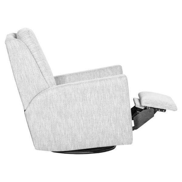 See Details - Track Arm Manual Push Back Swivel Glider Recline