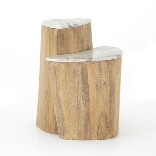 Myla Nesting End Table-sun Washed Mango