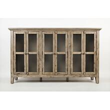 Rustic Shores 6 Door High Cabinet