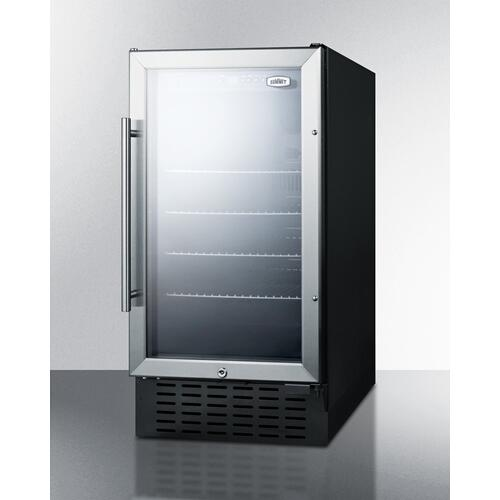 "18"" Wide Built-in Beverage Center"