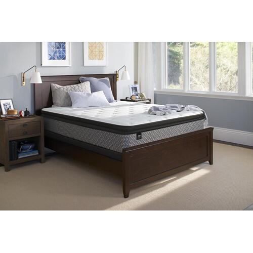 Beaming Plush Euro Pillow Top Queen Mattress
