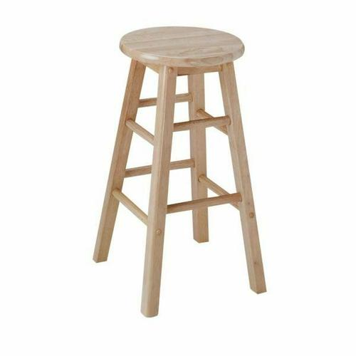 "ACME Metro Counter Height Stool (Set-2) - 02737N - Natural - 24"" Seat Height"