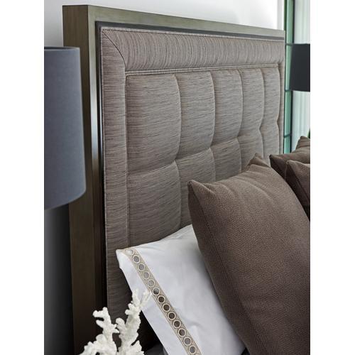 St. Tropez Upholstered Panel Bed King