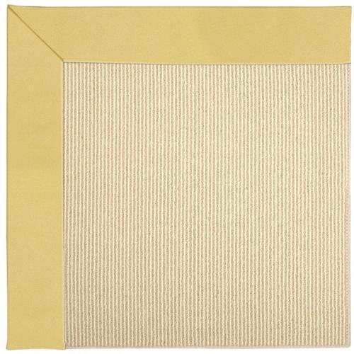 Capel Rugs - Creative Concepts-Beach Sisal Canvas Canary - Rectangle - 8' x 10'