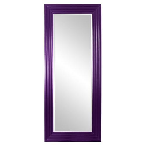 Howard Elliott - Delano Mirror - Glossy Royal Purple