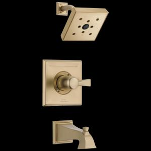 Champagne Bronze Monitor ® 14 Series H 2 Okinetic ® Tub & Shower Trim Product Image