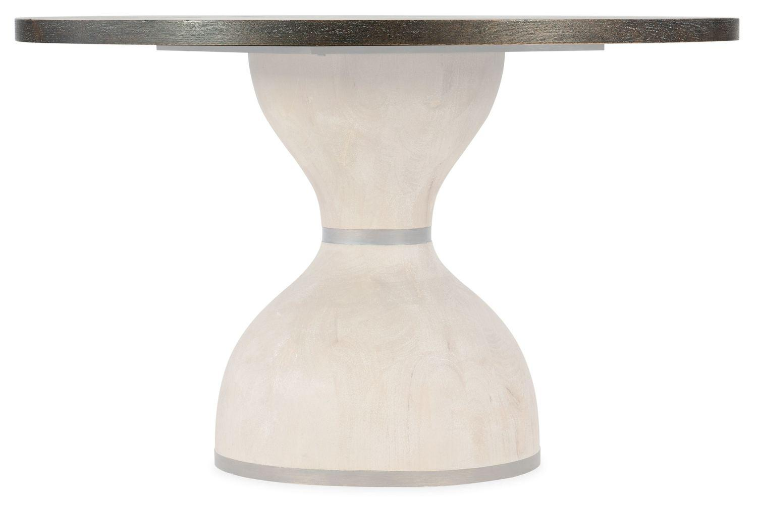 Hooker FurnitureDining Room Miramar Point Reyes Botticelli 48in Round Dining Table Top