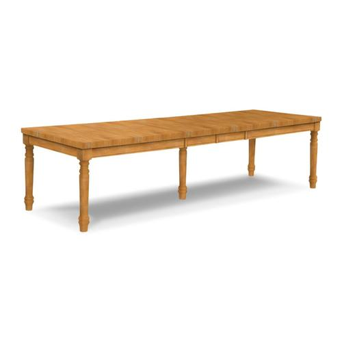 John Thomas Furniture - Large Extension Table (top only) / Turned Legs (Set of 5)