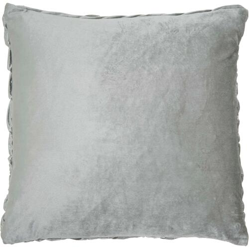 "Life Styles L0064 Light Grey 22"" X 22"" Throw Pillow"