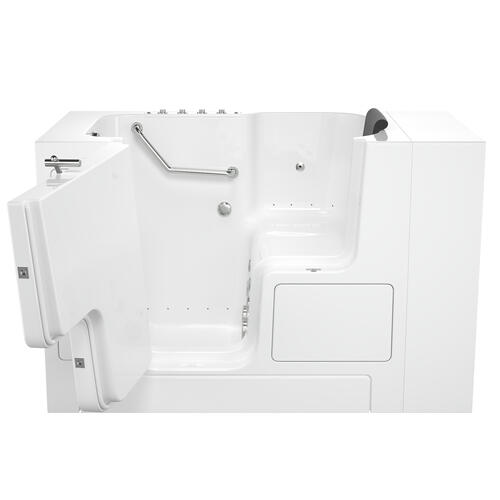 Premium Series 32x52-inch Combo Massage Walk-In Tub  Outswing Door  American Standard - White