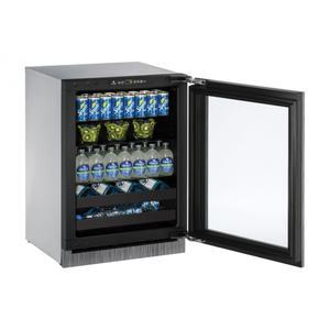 """U-Line24"""" Beverage Center With Integrated Frame Finish (230 V/50 Hz Volts /50 Hz Hz)"""