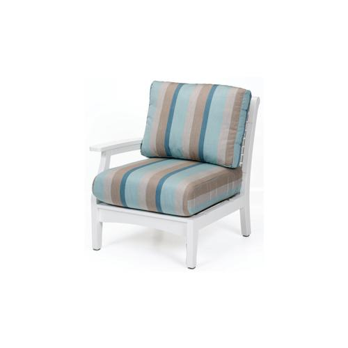 Classic Terrace Right Arm Sectional Club Chair