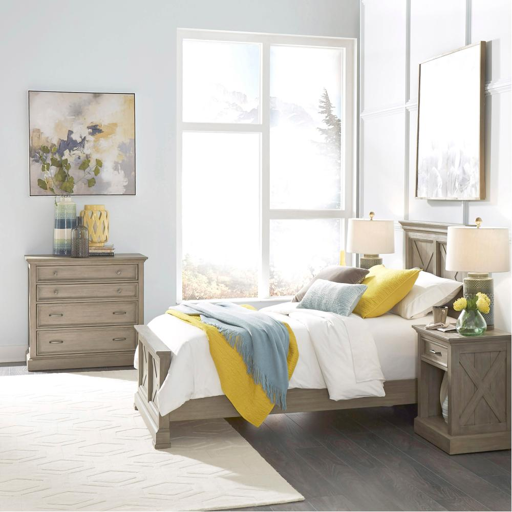 Walker Twin Bed, Nightstand and Chest