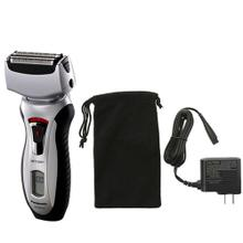 Arc3 Wet/Dry 3-Blade Shaver with Pivoting Shaver Head and Travel Pouch - ES-RT51-S