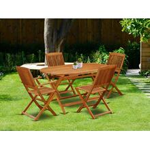 This 5 Piece Acacia Hardwood Outdoor-Furniture patio Sets provides you one particular Outdoor-Furniture table and four patio dining chairs