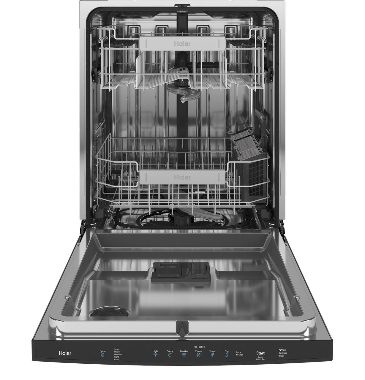 Smart Top Control with Stainless Steel Interior Dishwasher with Sanitize Cycle Photo #4