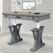 AMERICANA MODERN - DOVE 56 in. Lift Desk Top & Base Cover Product Image