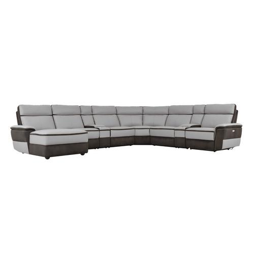 Gallery - 8-Piece Modular Power Reclining Sectional with Left Chaise