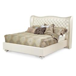 Cal King Upholstered Bed (3 Pc)