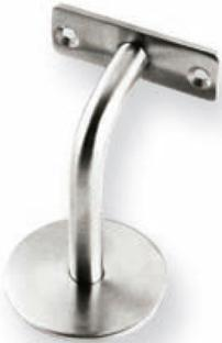 "Handrail Bracket, 3"" (76.2) Projection, US32D Product Image"