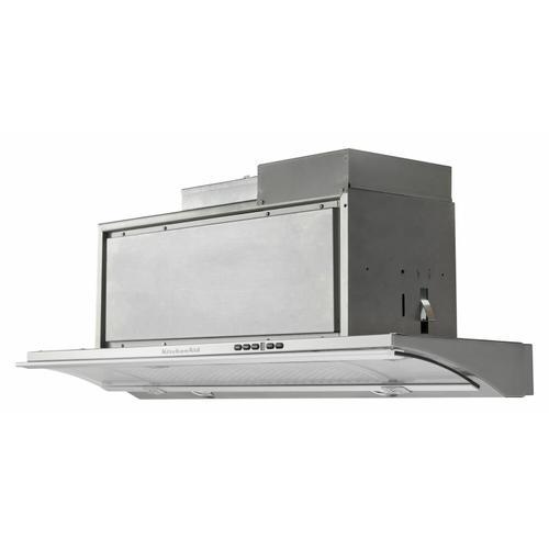 """KitchenAid - 30"""" Slide-Out Hood - Heritage Stainless Steel"""