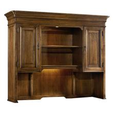 Home Office Archivist Computer Credenza Hutch