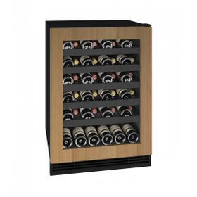 "Hwc124 24"" Wine Refrigerator With Integrated Frame Finish (115v/60 Hz Volts /60 Hz Hz)"