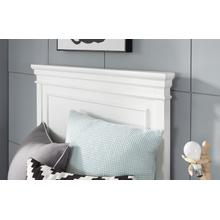 Canterbury - White Complete Panel Bed, Twin 3/3