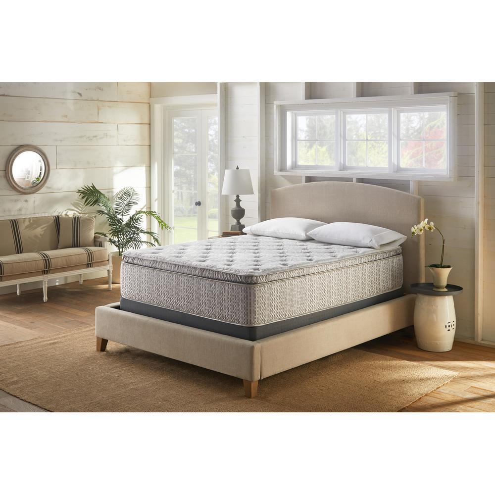 """See Details - American Bedding 14"""" Medium Pillow Top Mattress, Queen"""