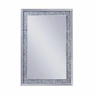 ACME Noralie Wall Decor - 97573 - Mirrored & Faux Diamonds