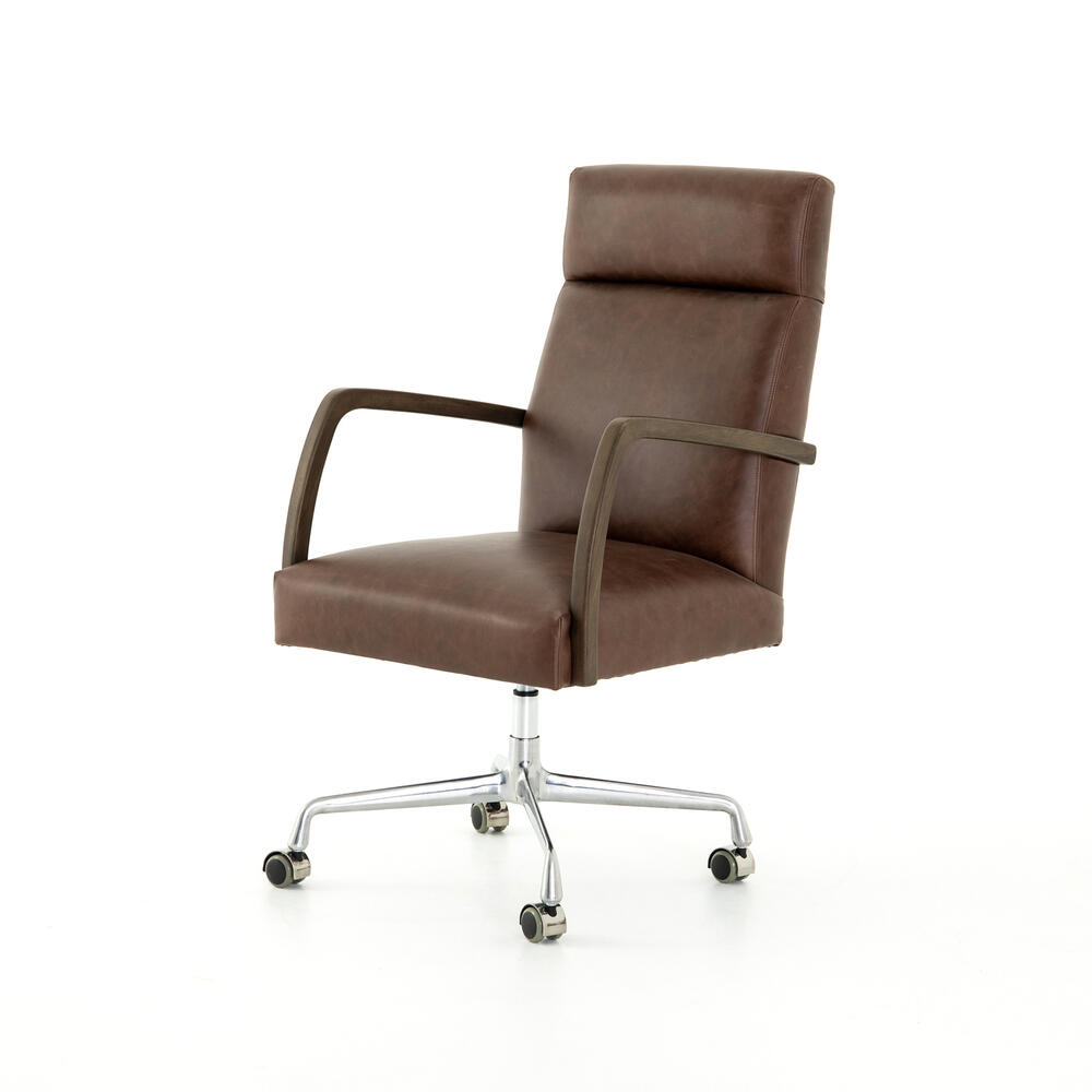 Havana Brown Cover Bryson Desk Chair