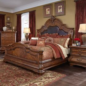 Queen Mansion Bed (3 Pc)